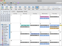 Calendar View:View your calendar right in your e-mail.