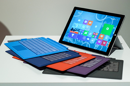 Surface 3 with Type Covers